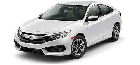 NEW Honda Civic (16-17) - Mieten