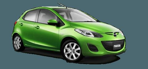 Mazda 2 (M/T, 2012-2014) - För uthyrning