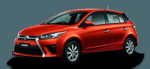 Toyota Yaris (2014-2017) - För uthyrning