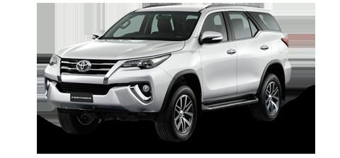 NEW Toyota Fortuner (17-18) - För uthyrning