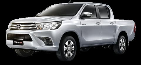 NEW Toyota Hilux (17-18) - 租赁