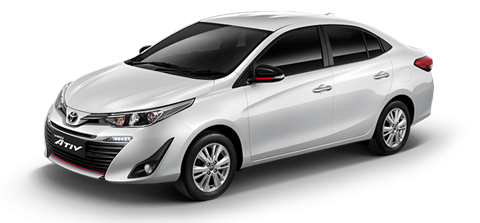 NEW Toyota Yaris Ativ (2018) - Vuokra