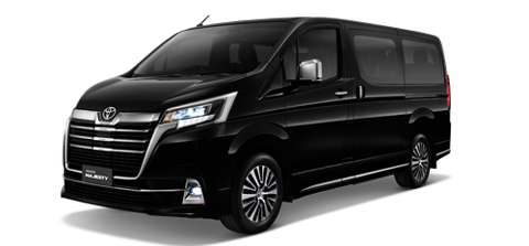 NEW Toyota Majesty (2019) - För uthyrning