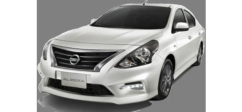 NEW Nissan Almera (18-19) - För uthyrning
