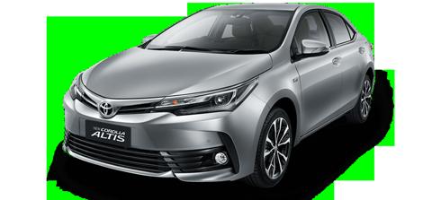 NEW Toyota Altis (17-18) - För uthyrning