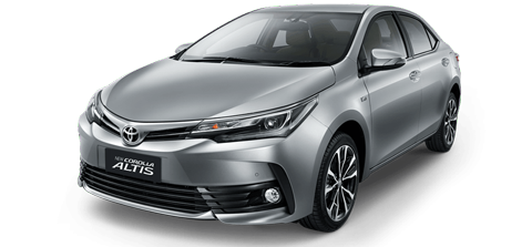 NEW Toyota Altis (17-18) - Аренда